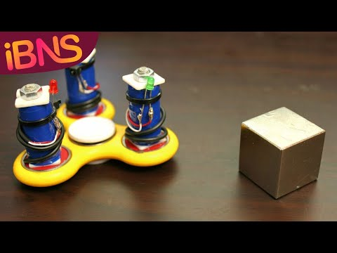 Fidget Spinners Free Energy Generator! (Fun with fidget spinners: Part 3)