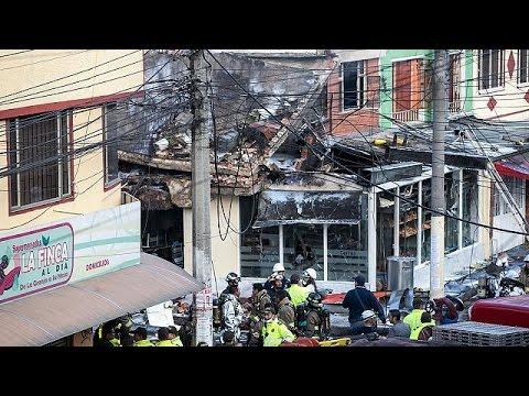 Video: plane crashes into Bogota bakery killing 5 people