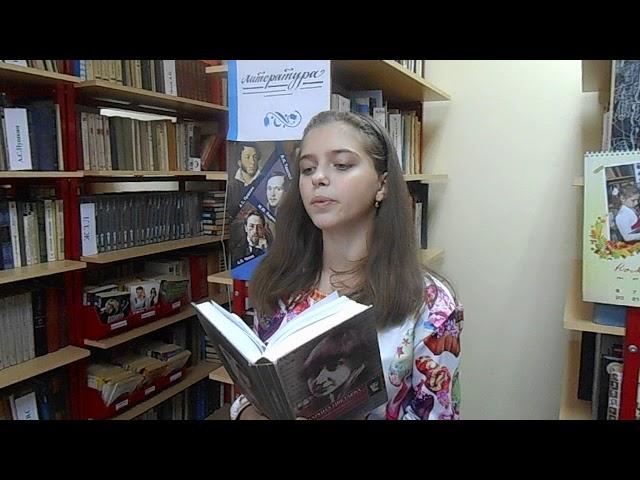 Изображение предпросмотра прочтения – ЛюбовьФинашина читает произведение «Мне нравиться, что вы больны не мною» М.И.Цветаевой