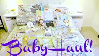 GENDER NEUTRAL BABY HAUL!