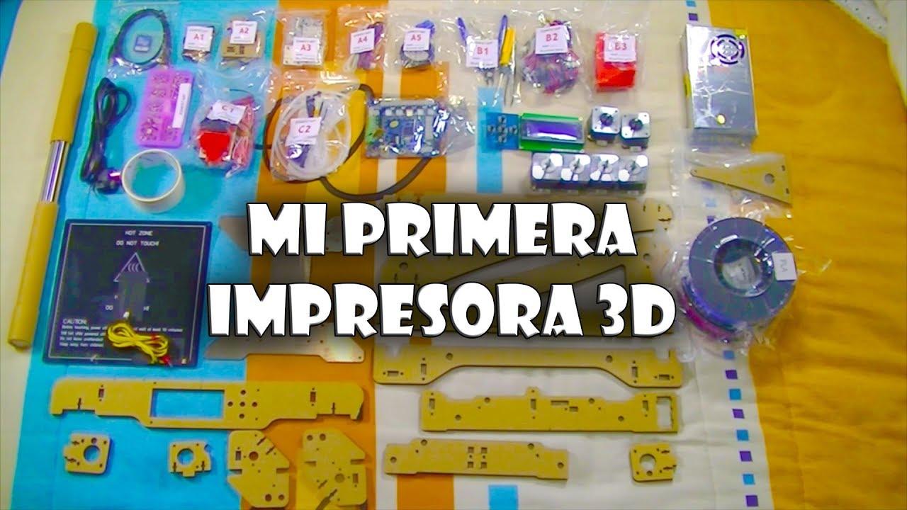 Mi primera impresora 3d montando r plica prusa i3 youtube for Primera impresora 3d