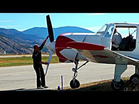 Yak-18 Russian two-seat Military Trainer Aircraft - SPAADS 2010 Penticton BC