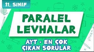 Paralel Levhalar (En çok çıkan sorular) | 11.Sınıf ve AYT