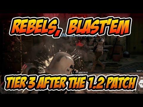 Rebels Blast'em Tier 3 SOLO after 1.2 Patch  STAR WARS BATTLEFRONT 2