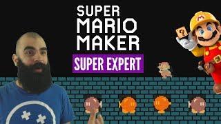 Patience is a Virtue   Super Expert No Skips Challenge   Mario Maker [VIII]