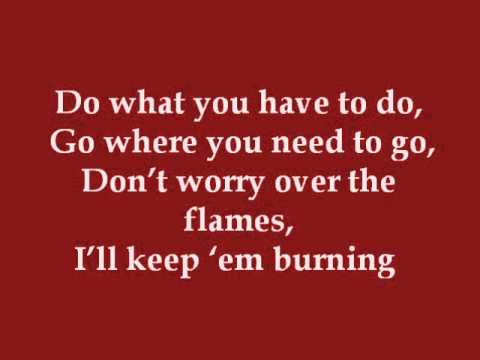 I'll Keep Em' Burning (Dance Moms) - Lyrics