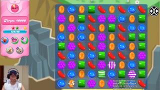 CANDY CRUSH SAGA - 1ST GAME BY BADMAN - LIVE GAMEPLAY #44