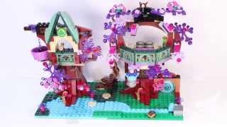 Lego Elves' Treetop Hideaway (41075) Stop Motion Speed Build