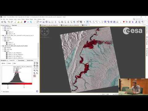 ESA Echoes in Space - Hazard: Flood mapping with Sentinel-1