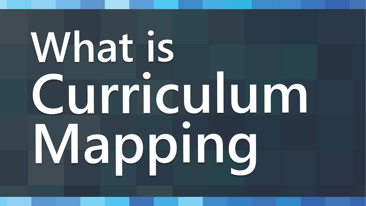 curriculum mapping Mapping curriculum enables teachers to assure that they allocate sufficient time to cover each standard and objective.
