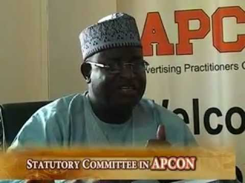 Advertising Practitioners Council of Nigeria- APCON Series 2