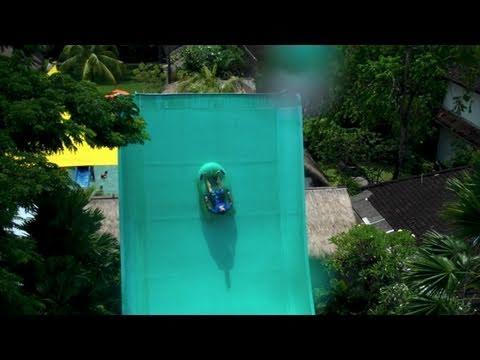EXTREME WATER SLIDES - BALI ADVENTURE - (DAY 5)