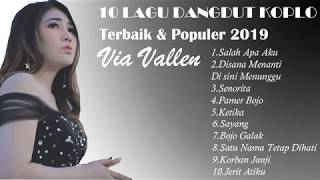 Download Via Vallen - 10 lagu dangdut koplo via vallen terbaru 2019 (Singel Album salah apa aku)