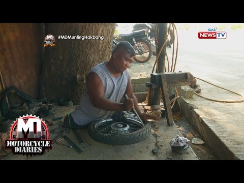 Motorcycle Diaries: Man with no feet goes viral on social media