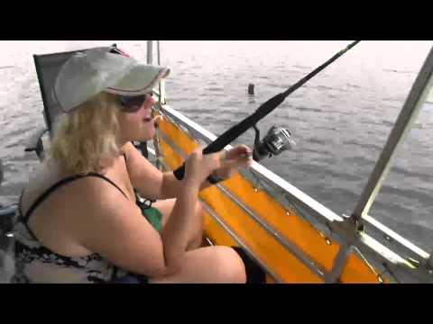Bass Fishing On Gatun Lake, Panama