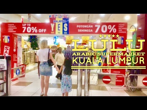 Lulu Hypermarket Walking Tour Capsquare Kuala Lumpur Malaysia - YouTube