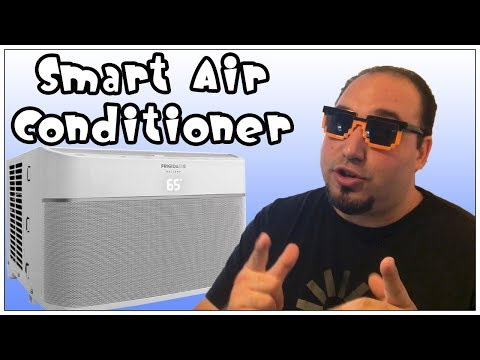Frigidaire smart air conditioner that works with Alexa
