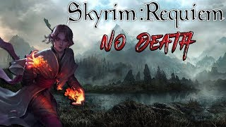 Skyrim - Requiem (без смертей, макс сложность) Данмер-Волшебница #3 Уроки изменения