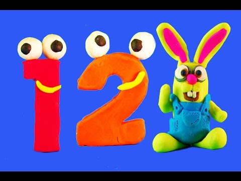 Thumbnail: Play Doh STOP MOTION Numbers. Learn numbers for kids Learn to count for children