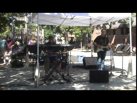 The Paradons Performing at Moscow Farmers Market.
