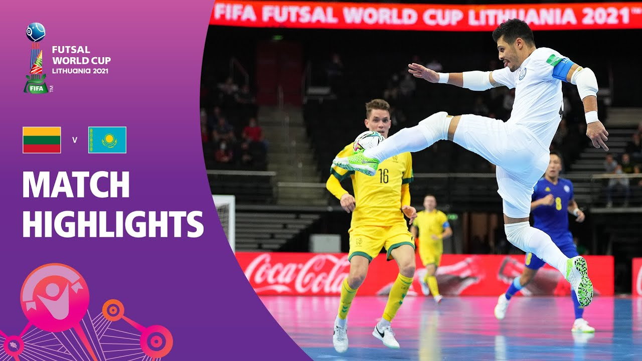 Lithuania v Kazakhstan   FIFA Futsal World Cup 2021   Match Highlights