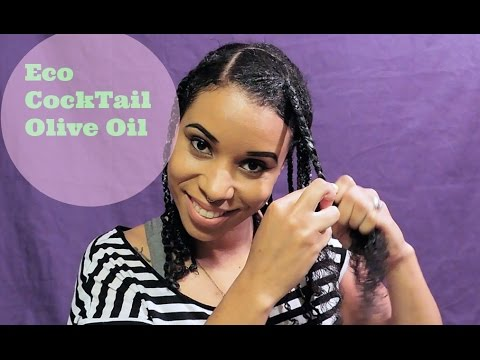 Natural Hair Simple Box Braids No Extensions Youtube