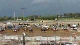 thunder ridge drill team rodeo 6 7 08