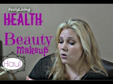 HUGE HAUL with REVIEWS - Health Beauty Makeup - FoolyLiving