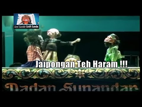 Wayang Golek Bodoran Jaipongan teh Haram !!! Dadan Sunandar Sunarya