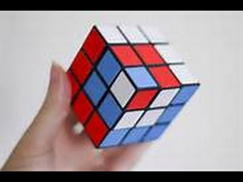 Rubik's Cube Patterns 40x40x40 Tutorial YouTube Amazing Rubix Cube Pattern