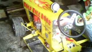 Super Modified Racing Tractor