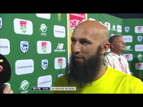 South Africa vs Sri Lanka - 5th ODI - Man of the Match - Hashim Amla