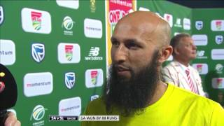 South Africa vs Sri Lanka - 5th ODI - Man of the Match - Hashim Amla