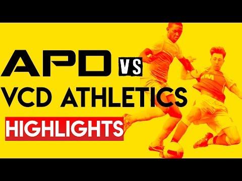 APD Vs VCD Athletics - The Highlights