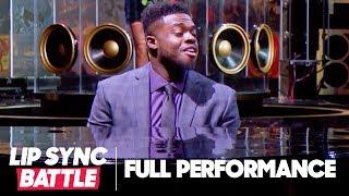 "Kevin Olusola Serenades Chrissy Teigen with ""Love Me Now"" | Lip Sync Battle"