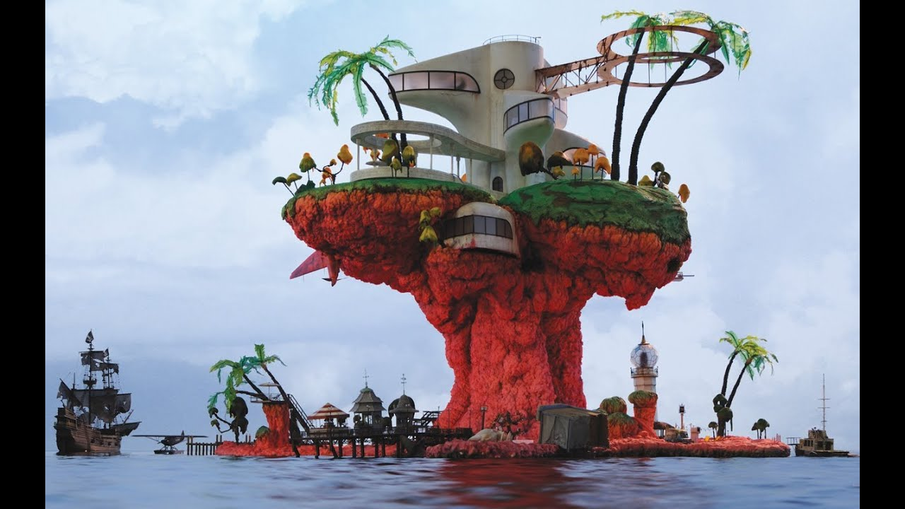 Gorillaz Plastic Beach 1 10 Minecraft Project