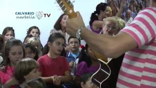 """""""Yo tengo un amigo"""" con Gabriel Rinaudo y los niños de la parroquia"""