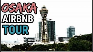Gambar cover JAPAN Apartment/House Tour Osaka, CHEAP Japan Airbnb in Dotonbori, Top Osaka Attractions Castle
