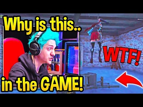 Ninja & Fortnite Community *WORRIED* Finding SCARY MESSAGE At THE BLOCK! - Fortnite Moments