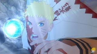 Naruto Shippuden: Ultimate Ninja Storm 4 - Naruto 7th Hokage [DLC] Vs Sasuke Gameplay【1080P】