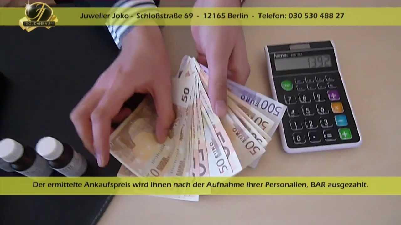 Juwelier Joko - Goldankauf Berlin - Steglitz Zehlendorf - Schmuckankauf Gold