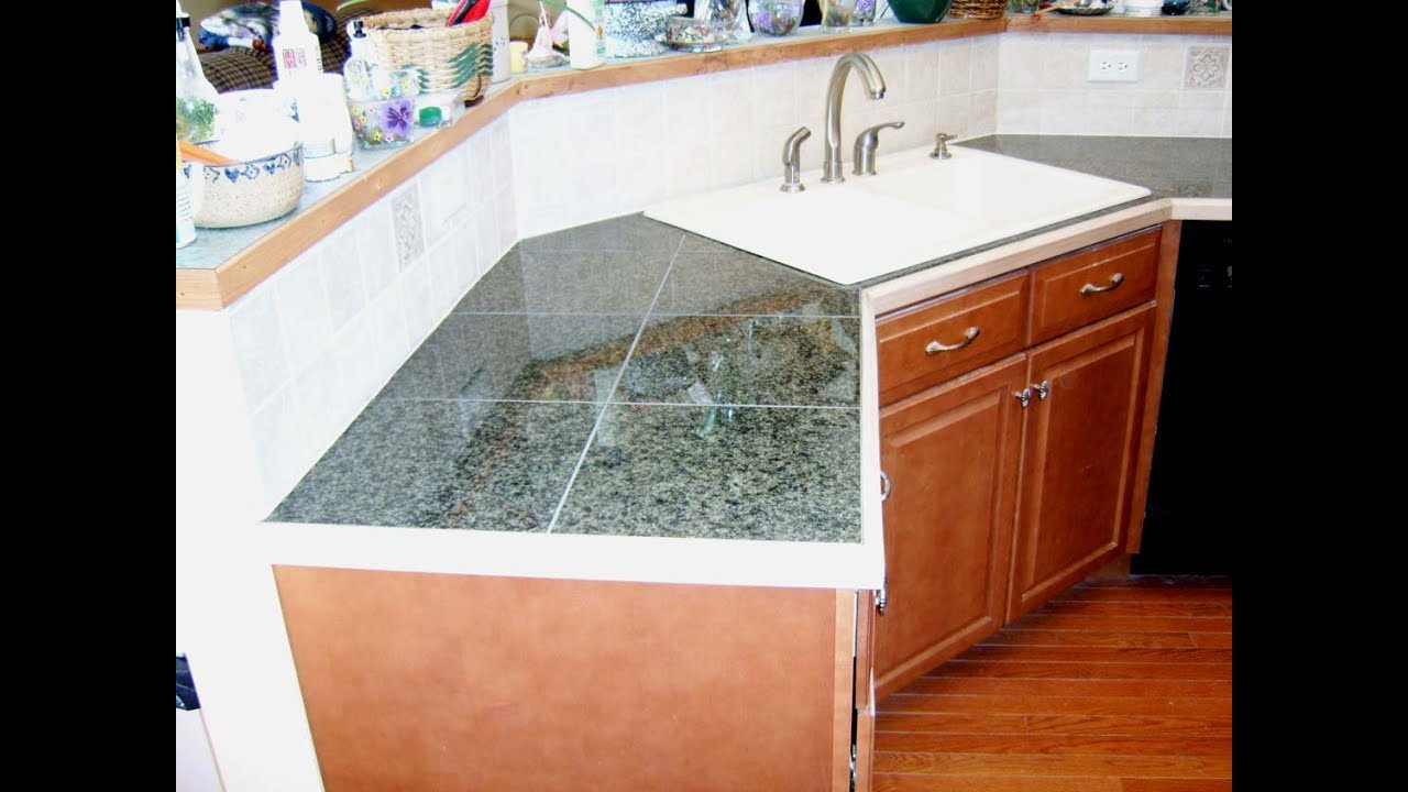 Tile Countertop Ideas Tile Countertops To Increase The Value Of Your Kitchen Youtube