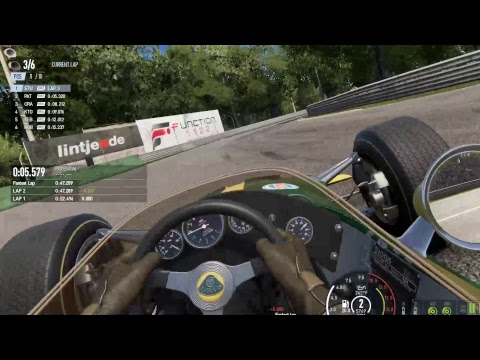 Project Cars 2 Racing Online in VR Lotus49C
