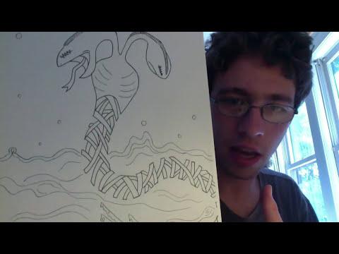 My RISD Pre-College Sketch Book (2014) Part 1