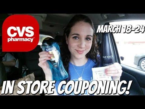 CVS IN STORE COUPONING 3/18/18-3/24/18!  HOT NEXXUS/BODY WASH/COSMETICS DEALS!