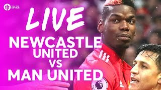 POGBACK! Newcastle United vs Manchester United LIVE TEAM NEWS STREAM