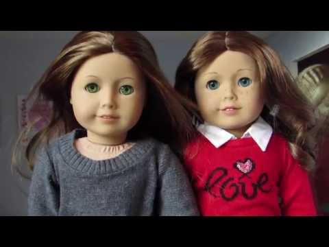 Comparison: American Girl Doll Saige And Felicity!