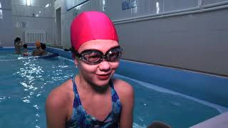 Благовещенских младшеклассников бесплатно обучают азам плавания