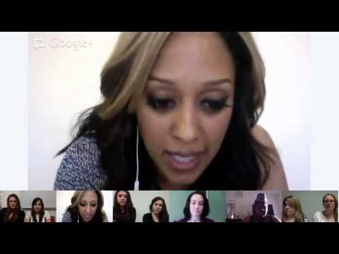 OK! Google+ Hangout with Tia Mowry-Hardrict!