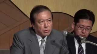 「すき家」労働問題・ゼンショー小川会長記者会見 【ノーカット】(2014.7.31)